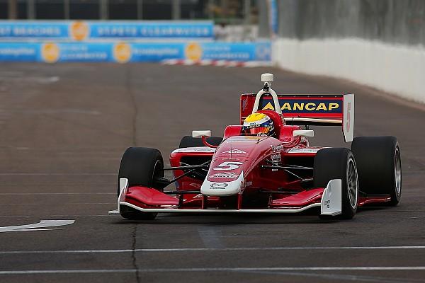 Indy Lights Crónica de Carrera Victoria de Urrutia en la Carrera 2 de San Petersburgo