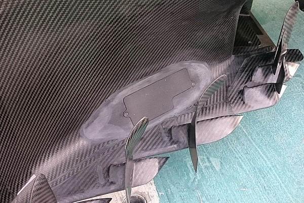 Formula 1 Analisi Mercedes: c'è un misterioso sportello nel bargeboard della W08!