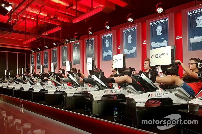 F1 Esports'ta Pro Draft'a kalan 40 isim tamamlandı