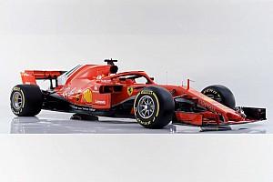 Ferrari reveló su SF71H con el que buscará recuperar el trono de la F1