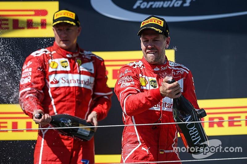 匈牙利大奖赛:维特尔保住胜利果实,法拉利包揽前二