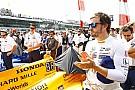 IndyCar Alonso colabora con la fundación que ayuda a las hijas de Justin Wilson
