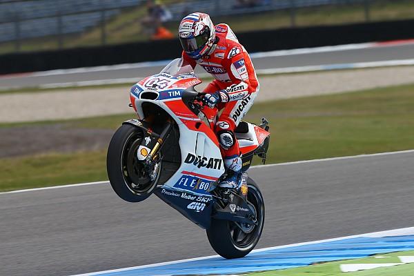 MotoGP Breaking news Demi gelar juara dunia, Dovizioso lupakan hat-trick di Assen