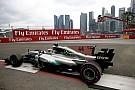 Les F1 devraient conserver l'aileron de requin en 2018