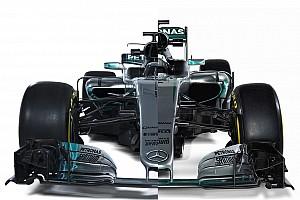 Fórmula 1 Galería El Mercedes W08 2017 frente al W07 de 2016