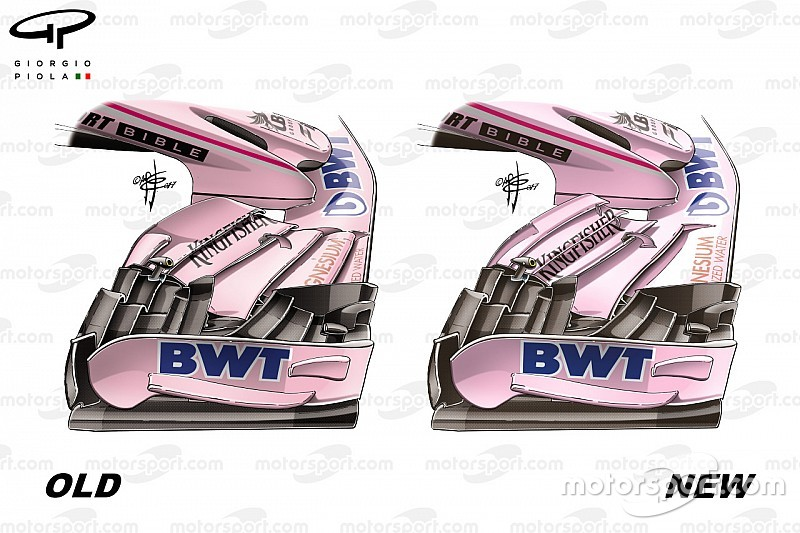 Formel-1-Technik: Die Updates am Force India VJM10 in Silverstone