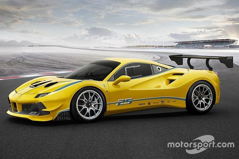 Ferrari präsentiert 488 Challenge beim Weltfinale in Daytona