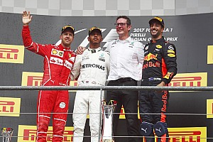 Formula 1 Race report Belgian GP: Hamilton keeps Vettel at bay to win