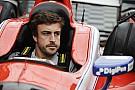 IndyCar Fotogallery: la prima volta di Alonso su una monoposto IndyCar