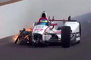 IndyCar Actualités Gros crash en qualifs pour Sébastien Bourdais
