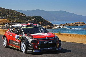 WRC Tappa Meeke e la Citroen dominano la prima tappa del Tour de Corse