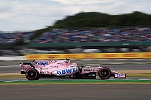 F1 Noticias de última hora Pérez tuvo dificultades en el primer día en Silverstone