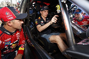 Supercars Breaking news Supercars star introduces Verstappen to classic driving technique