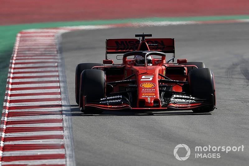 Vettel marca el mejor registro de los test en la última mañana
