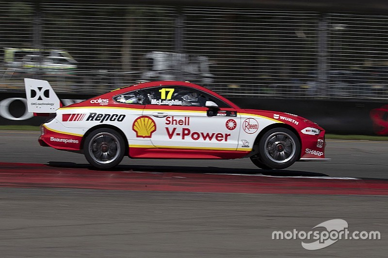 New Supercars Mustang 'lit' in qualifying trim – McLaughlin