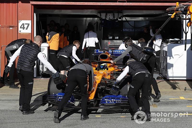 Barcelona Test Day 5: Norris top, McLaren and Mercedes hit trouble