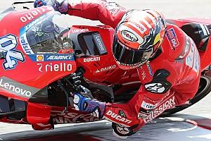 Test MotoGP Losail, Giorno 1: alle 20 è doppietta Ducati, cadono Marquez e Iannone