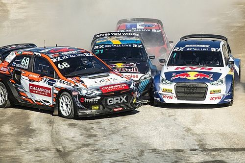 Кристофферсон выиграл второй подряд этап WRX