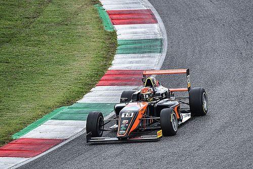 F4, Mugello: Dufek esulta in gara due davanti a Montoya e Smal