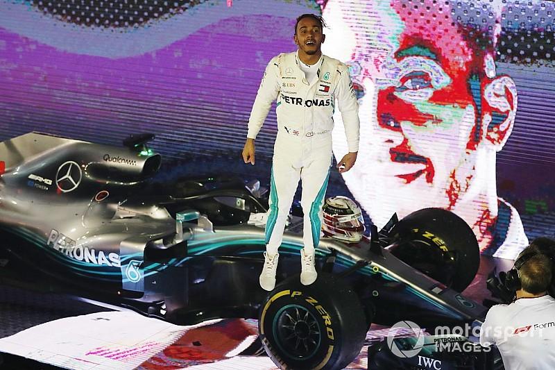 En fotos, el 2018 que ha coronado histórico pentacampeón a Hamilton