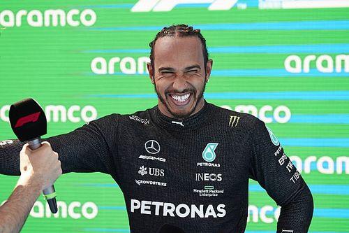 """Lewis Hamilton élu """"Pilote du Jour"""" du GP d'Espagne 2021"""