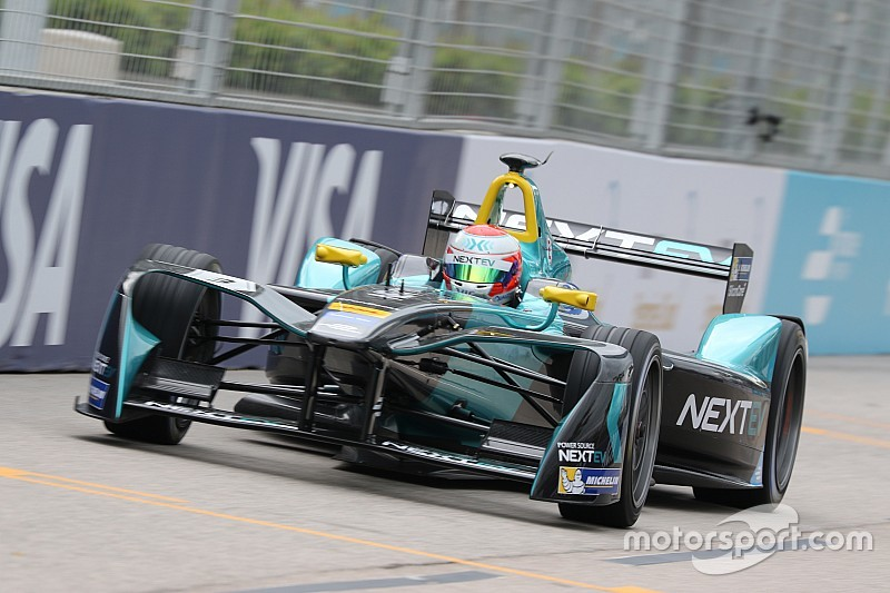 Hong Kong ePrix: Piquet heads NextEV 1-2 after Super Pole cancelled
