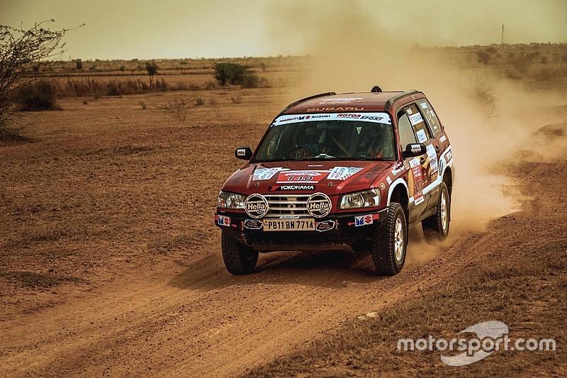 Desert Storm, Leg 5: Rana takes lead as Mishra suffers heavy crash