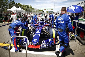 "Fórmula 1 Últimas notícias Gasly ""pressionou"" STR para troca de motor no Canadá"