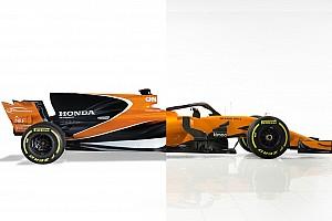 Compare a McLaren de 2018 com a versão de 2017