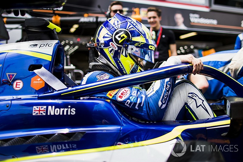 Norris stripped of Monaco F2 sprint race runner-up spot