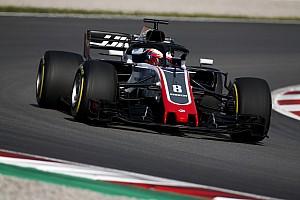 Fórmula 1 Crónica de test Grosjean sorprende en el test de Barcelona
