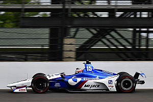 IndyCar Practice report Indy 500: Rahal stays top, Hildebrand hits wall