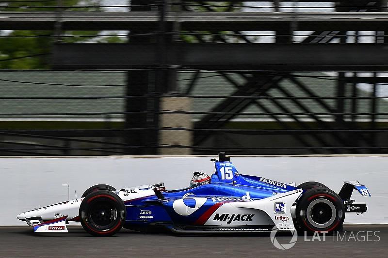Indy 500, Day 3: Rahal al top, Hildebrand finisce a muro