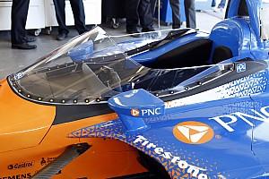 IndyCar Noticias La IndyCar probará por segunda vez su parabrisas
