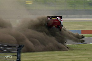 "DTM Breaking news Unhurt Rast realised crash ""looked bad from the outside"""