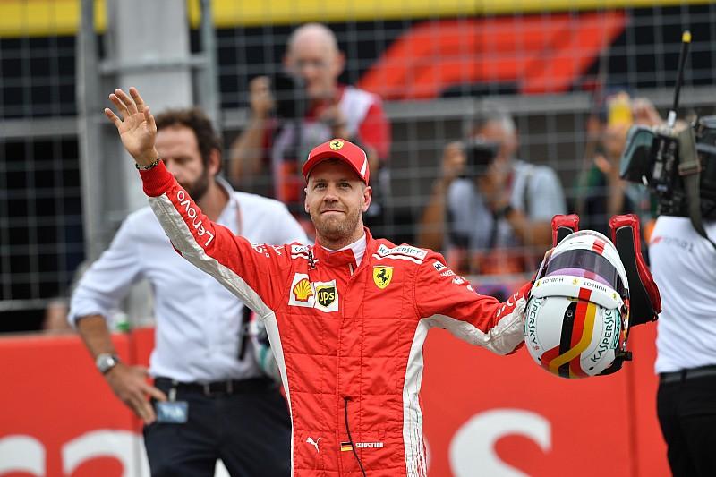 2年ぶりの母国GPでPP獲得のベッテル「間違いなく最高の瞬間だった」