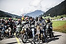 Bike Mille motocyclistes au start de la Red Bull Alpenbrevet 2017