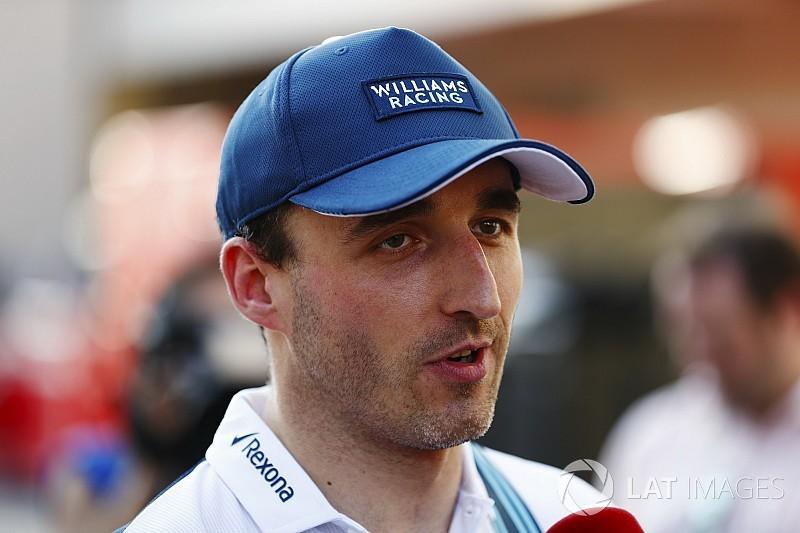 Kubica test- en reserverijder bij Williams in 2018