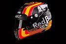 El espectacular casco que Carlos Sainz llevará en Renault