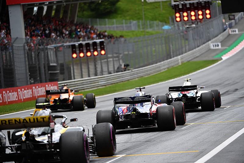 Гран Прі Австрії: стартова решітка