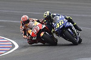 MotoGP Actualités Le président de la FIM rappelle Márquez et Rossi à l'ordre