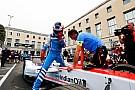 Formule E Rosenqvist affligé par l'abandon après