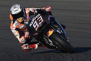 MotoGP Testing report Marquez ends Valencia post-season test on top