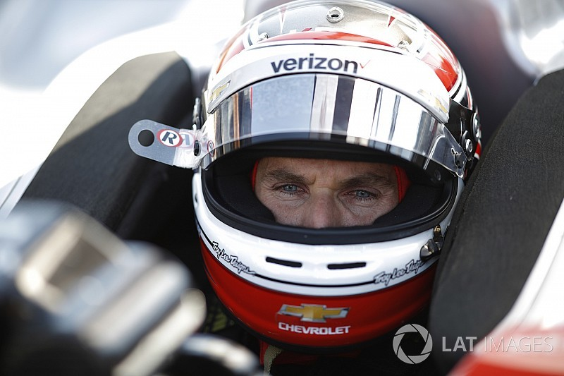 Indy GP: Power leads Rossi in opening practice