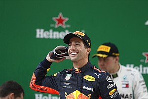 """Formule 1 Nieuws Horner: """"Ricciardo zit nu op zijn hoogste niveau"""""""