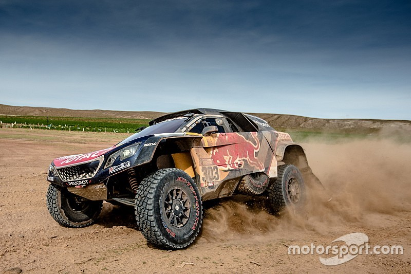 sainz disgusted by dakar penalty. Black Bedroom Furniture Sets. Home Design Ideas