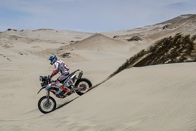 Dakar 2018, Stage 6: Improved showing from Santosh