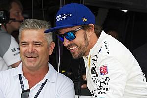 IndyCar Noticias de última hora De Ferran destaca a Alonso: