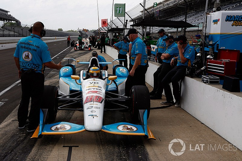 "Harding will need to be ""extra-diligent"" as a one-car team"