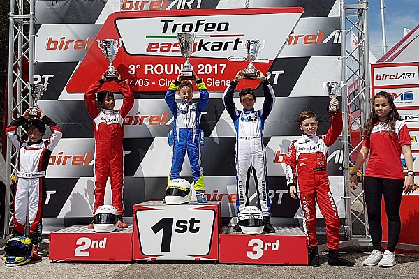 Kart Alva misses out on victory in third EasyKart round